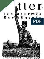 Niekisch, Ernst - Hitler, ein deutsches Verhängnis; Widerstandsverlag Berlin, 1932