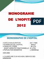 Présentation Hôpital Al Mansour 2012