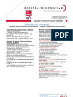 Oferta de Empleo Público Octubre 2012
