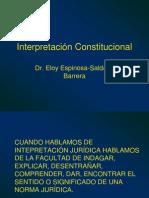 20090715-Interpretacion Constitucional 3 Eloy Espinosa-Saldana