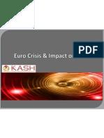 Euro Crisis & Impact on India