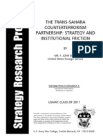 2011 The Trans-Sahara Counterterrorism Partnership - Strategy and Institutional Friction