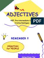 Adjectives Describing People