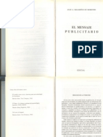 El Mensaje Publicitario Magarinos de Morentin