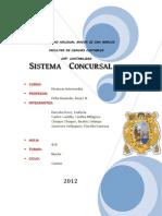 Sistema concursal - Peru