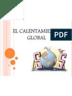 El Calentamiento Global- Diapositivas