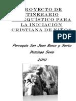 Proyecto de Itinerario Catequístico para la Iniciación Cristiana de Niños
