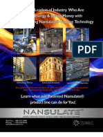 Nansulate Industrial Brochure Insulating Coatings