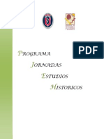 Programa Jornada de Estudios Históricos (modificado)