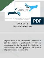 AEEM 150- Informe Labores Ppt AEEM 2011-12