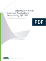 Forrestser Wave North American Applications Outsourcing 2010 Final