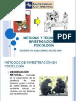 TEMA 2 METODOS Y TÉCNICAS DE INVESTIGACIÓN EN PSICOLOGÍA