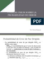 Cota de Union Sobre La Probabilidad de Union Modificado
