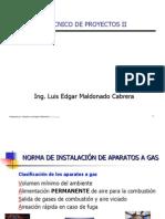 Norma de instalación de equipos de gas