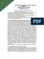 Informe Uruguay 30-2012