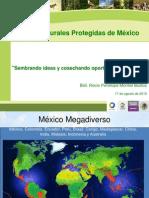 Áreas Naturales Protegidas de México_Rocio Montiel
