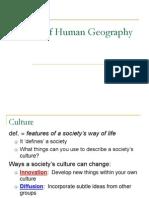 Basics of Human Geog 1