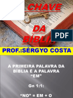 A CHAVE DA BÍBLIA