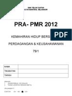 Pra Pmr 2012 Khb-pk dengan Jawapan