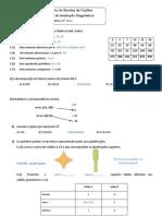 Correção da Ficha Diagnostica M6 - 2012