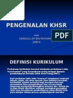 PENGENALAN KHSR