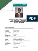 Ing. Kleber Dionicio Orellana Suarez