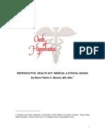Position Paper-RH Bill-Dr Manalo