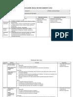 Plantilla de Planificacion Anual