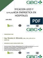 Certificacion Leed y Eficiencia Energetica en Hospitales