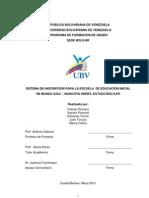 Informe Sistema de Inscripcion Mundo Azul