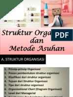 Struktur Organisasi Dan Metode Asuhan