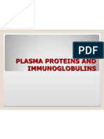 Plasma Proteins and Immunoglobulins Son
