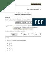Logaritmos y FuncioÌn LogariÌtmica