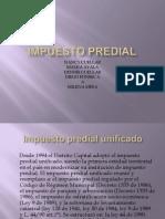 DIAPOSITIVAS IMPUESTO PREDIAL