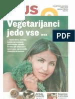 Vegetarijanci Jedo Vse ... Priloga Nedeljskih Novic, 30. September 2012