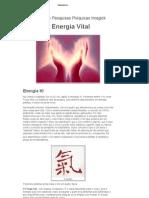 A Energia Vital - Instituto de Pesquisasa Psíquicas Imagich - Energia KI - Experiencia