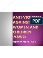 ANTI-Violence Against Women and Children