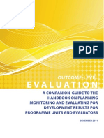 UNDP Guidance on Outcome-Level Evaluation 2011-09ddd
