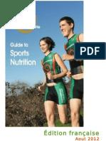 Guide de nutrition sportive OrganicAthlete - édition francaise 2012