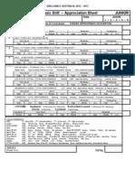 1 Basic Drill Appreciation Sheets