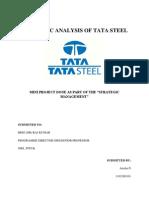 2011MBA SM MP1 Name Anisha, Roll No 11021E0101, Topic Tatasteel