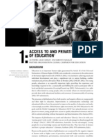 Access to and Privatisation of Education