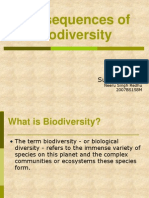 Consequences of Biodiversity