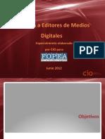 Informe Encuesta a Editores de Medios Digitales