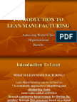 11. Introduction to Lean Manufacturing Updated
