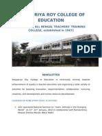 Satyapriya Roy College o f Education