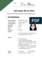 Pilar Ruth López De La Cruz - Curriculum, Imprimir