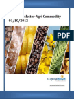 Daily AgriCommodity Report 01-10-2012