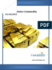 Daily Commodity Report 01-10-2012
