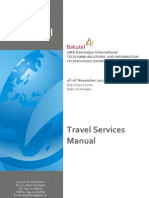 Travel Manual Gwtc Bakutel 2012